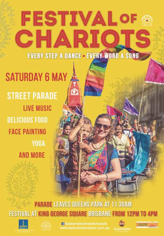 Ratha Yatra 2017 The Brisbane Festival of Chariots
